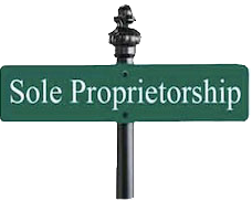 incorporate as a sole proprietorship